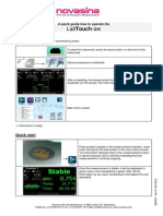 Quick Guide LabTouch E 004156 00