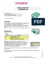 004526.00 Quick Guide LabSwift Aw E