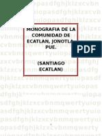 Monografia de Ecatlan Enviar