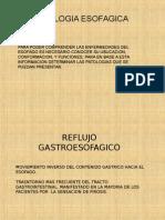 FISIOPATOLOGIA ESOFAGICA