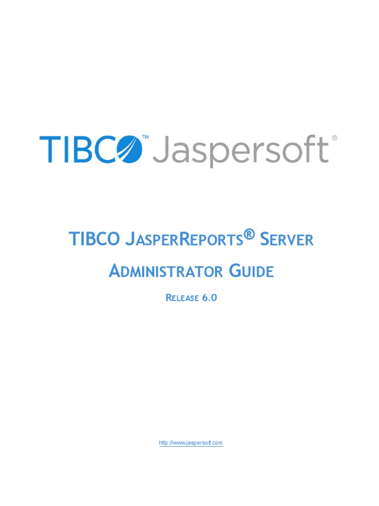 JasperReports Server Admin Guide | Superuser | Databases