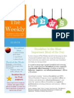 newsletters for weebly