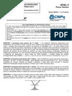 OBF2013 Fase 3 Nível 2