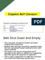 9.Inspeksi Belt Conveyor
