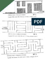 Láminas Test Laberintos de Porteus (Form. Alt. B)