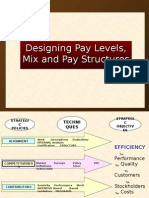 Designing Pay Structure, Levels, And Mix