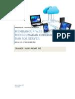 Membangun Web Service Dengan Codeigniter Dan SQL Server 2008
