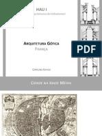 Arq. Gótica - Prof. Carolina Chaves