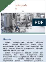 Heat transfer pada Bioreaktor