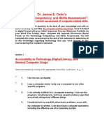 franse technology comptetency and skills assessment 1