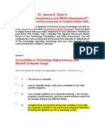 franse technology competency and skills assessment 2