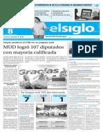 Edicion Impresa El Siglo 08-12-15