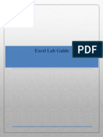 MS Excel Lab Guide