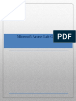 MS Access Lab Guide