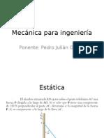 Mecanica para ingenieria