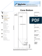 Cone Bottom Silo