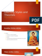 learning styles and theorists