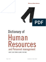 HR Dictionary Review