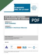 1- Gobierno y Politicas Publicas