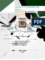 Planeamiento y control operativo aplicado a una empresa