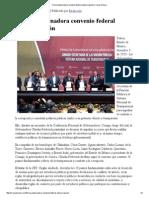 04-12-15 Firma Gobernadora convenio federal anticorrupción - Canal Sonora