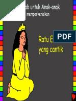 Beautiful Queen Esther Indonesian