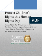 Protect Children's Rights this Human Rights Day