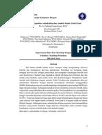 Analisis kapasitas antioksidan dan kadar total fenol pada daun teh