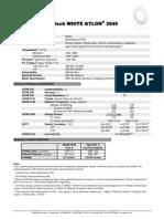 3545 White Gylon Data Sheet 2