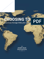 Choosing-To-Lead-American Foreign Policy for a Disordered World