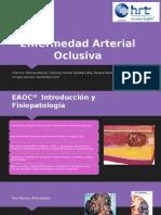 Enfermedad Arterial Obstructiva Crónica