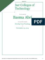 basma abdulla develop your teaching