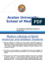 Avalon University - Modern Lifestyle of North American and Antillean Students