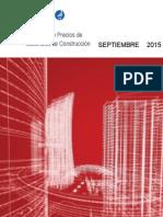 Precios de Materiales Sept 2015