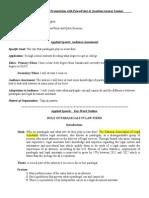 applied speech outline - koudriachova anna