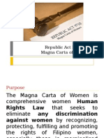 Presentation Magna Carta of Women