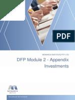 DFP Module 2 Appendix