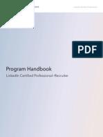 Certification Handbook - Linkedin