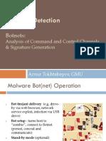 Botnet Analysis