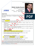 Muhammad Arsalan Hussain - HR Executive