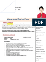 Muhammad Danish Khan - Finance Officer