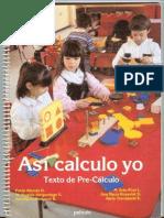 Así Caclculo Yo - Precálculo