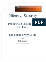 Offsec Lab Connectivity Guide