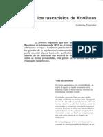 Los Rascacielos - Rem Koolhaas