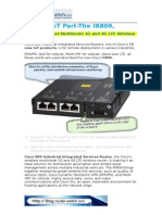 Cisco's IoT Part-The IR809-Cisco's Smallest Multimode 3G and 4G LTE Wireless Router