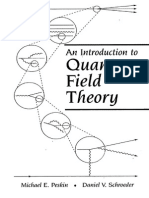 Introduction to Quantum Field Theory Peskin