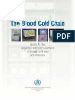 Blood Cold Chain-WHO