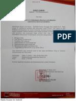 Surat Edaran Pemilihan Duta Perdamaian Aceh