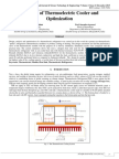 A Design of Thermoelectric Cooler and Optimization