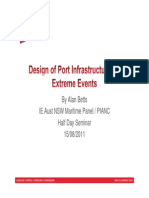 Design of Port Infrastructure for Extreme Events, By Alan Betts